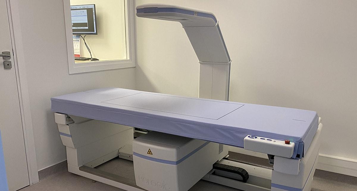Le Cabinet de Radiologie, Radiodôme réalise votre ostéodensitométrie